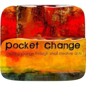 Pocket Change, Badge created by Gretchen Miller