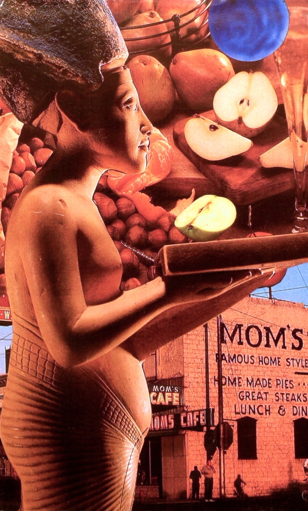 "Mom's Cafe, ©2005, H. Hunter, 5 x 8,"" SoulCollage®"
